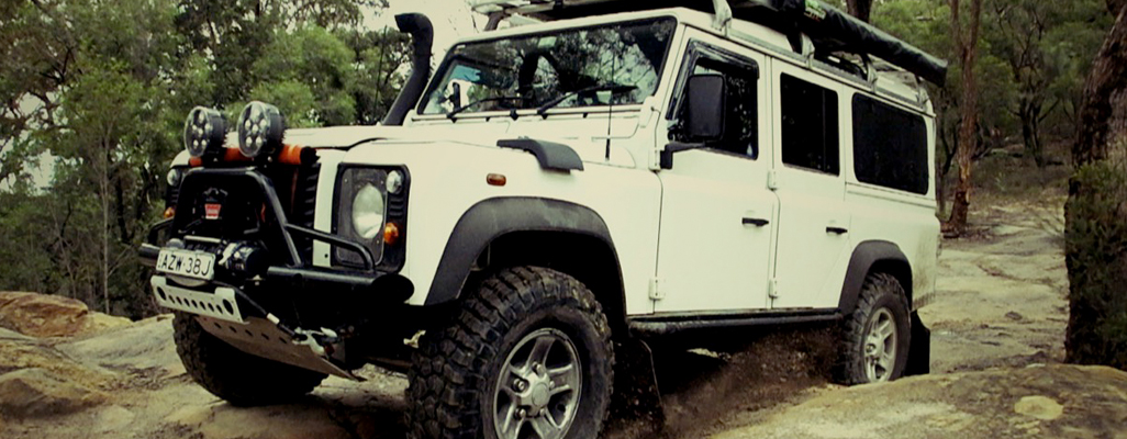Land Rover Defender As Room For Hire